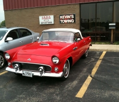 1955 T-Bird at JERS Automotive
