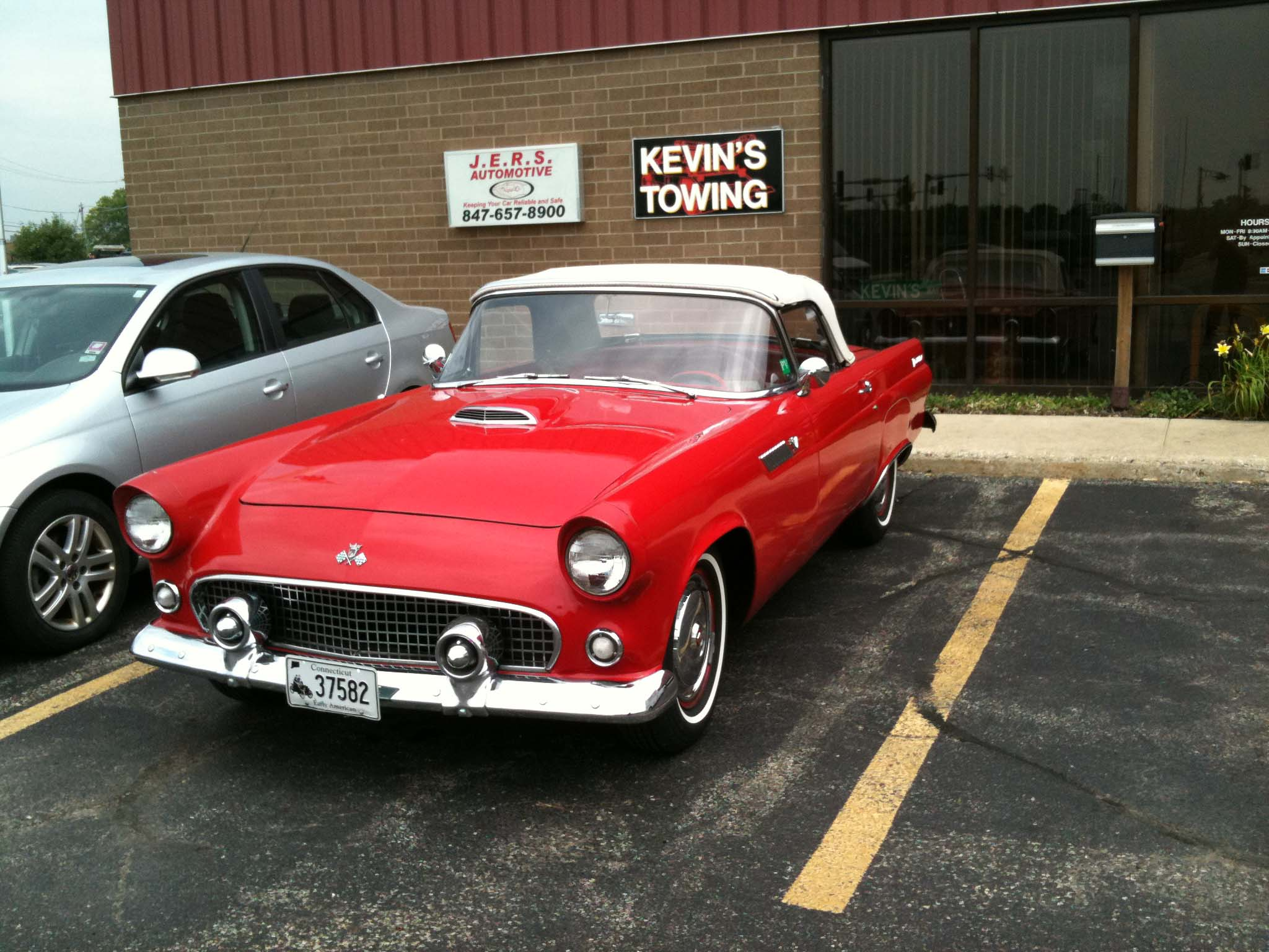 1955 T Bird At JERS Automotive