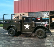 Vintage Military Truck at JERS Automotive