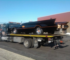 Batmobile at JERS Automotive in Glenview
